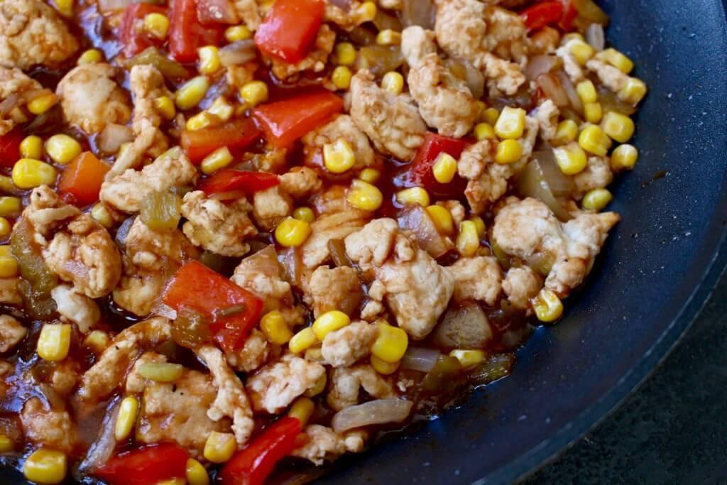 Healthy Dinner Recipes With Ground Turkey  Tex Mex Ground Turkey Skillet Mom to Mom Nutrition