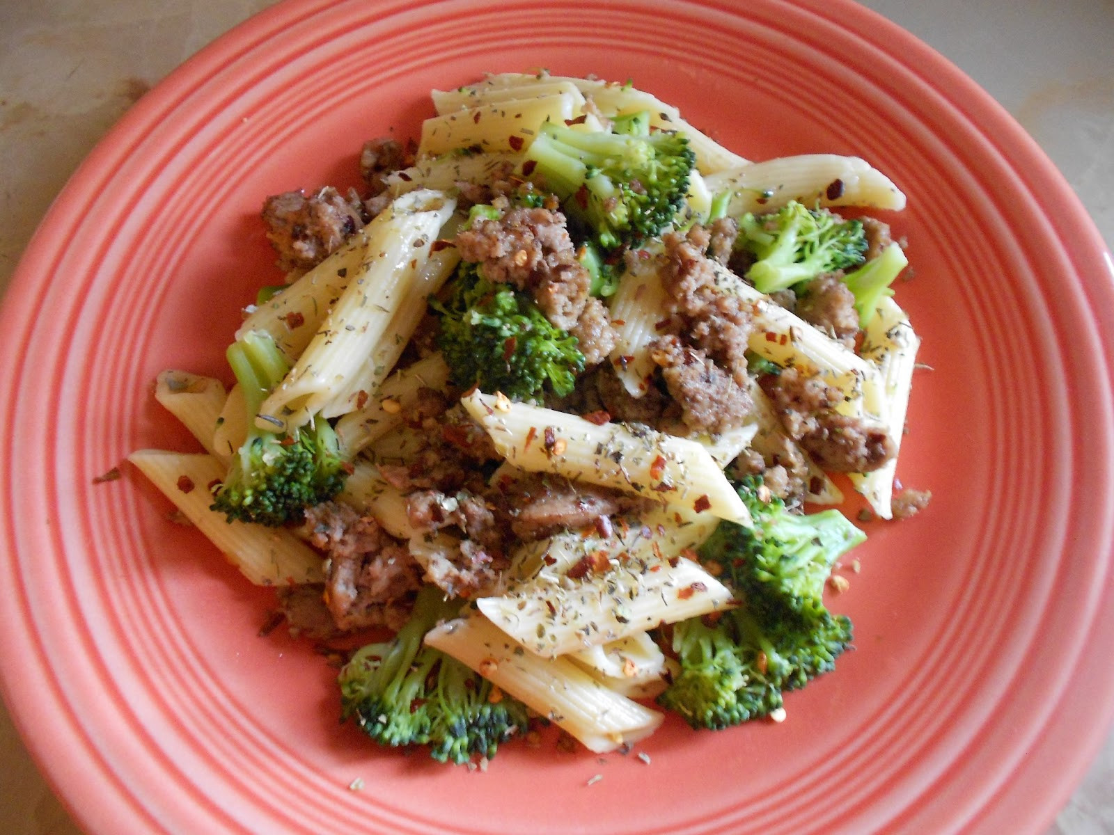Healthy Dinner Recipes With Ground Turkey  A Healthy Dinner Pasta With Ground Turkey and Broccoli