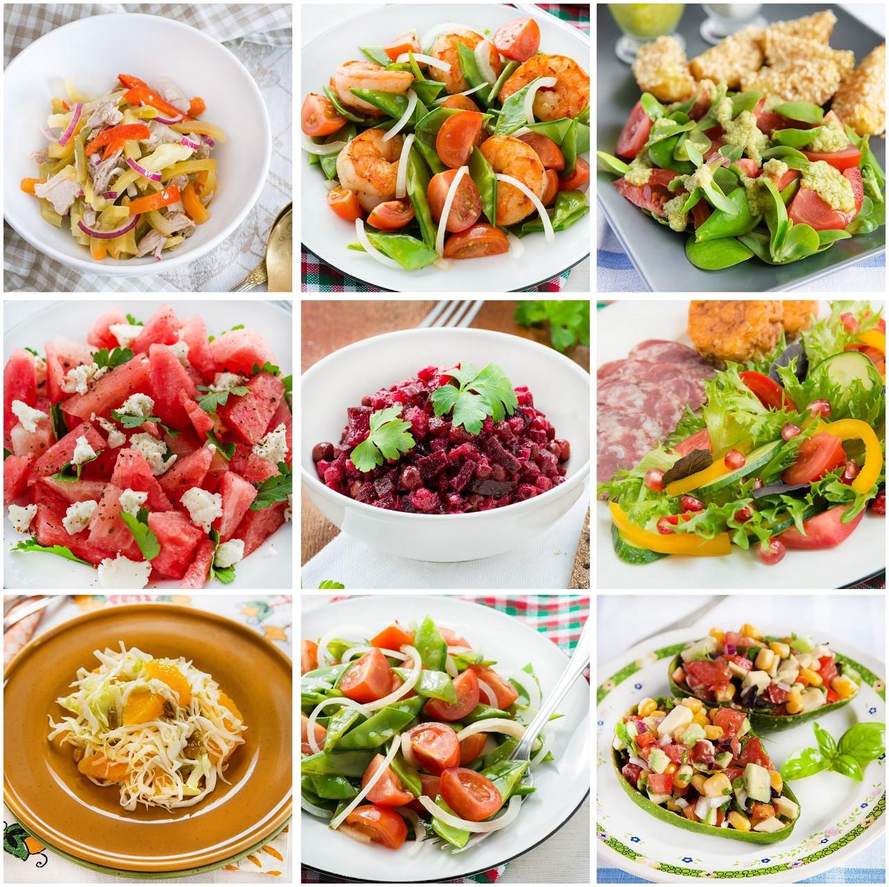 Healthy Dinner Salads  WatchFit 5 Crunchy Healthy Salads For Dinner