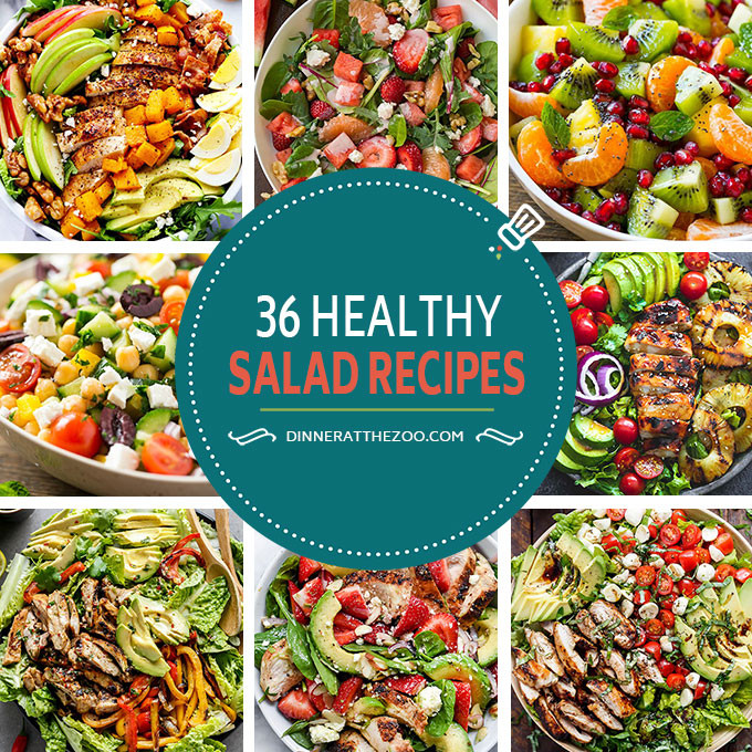 Healthy Dinner Salads  36 Healthy Salad Recipes Dinner at the Zoo