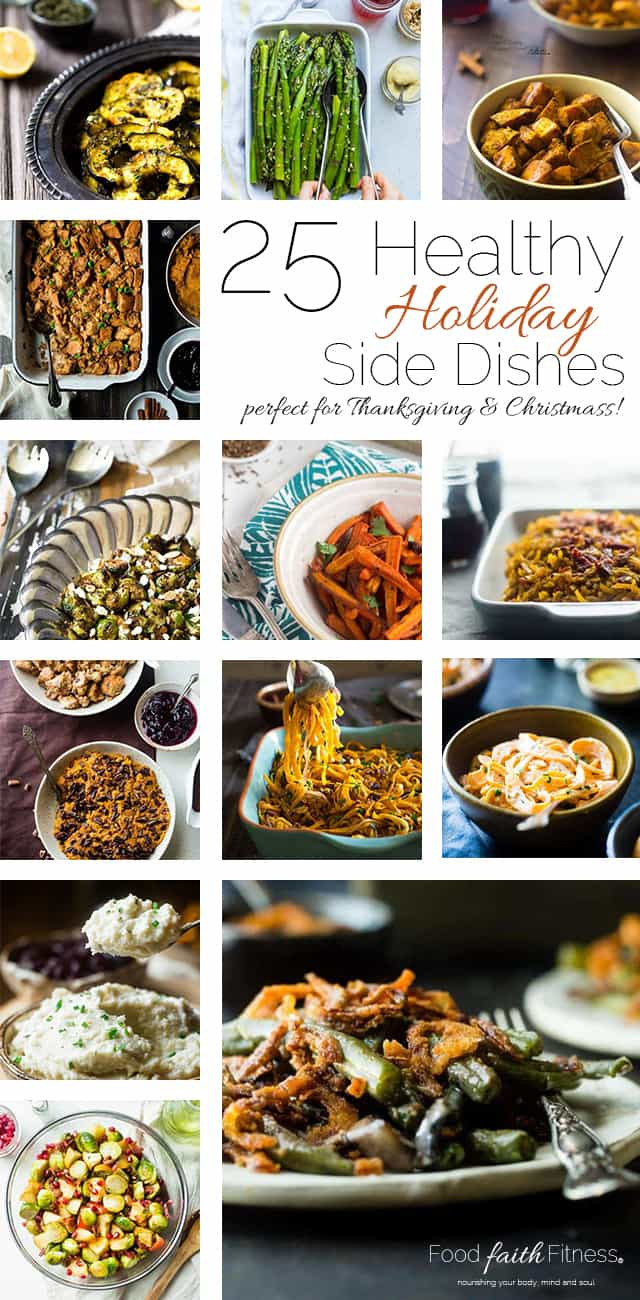 Healthy Dinner Side Dishes Recipes  25 Healthy Thanksgiving Recipes