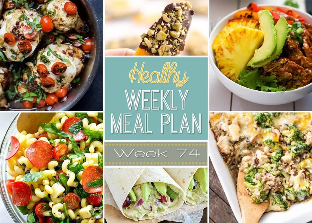 Healthy Dinner Side Dishes Recipes  Healthy Weekly Meal Plan 74 Yummy Healthy Easy