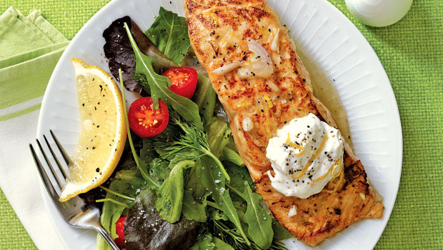 Healthy Dinner Tonight  Healthy Dinner Tonight Lemony Salmon