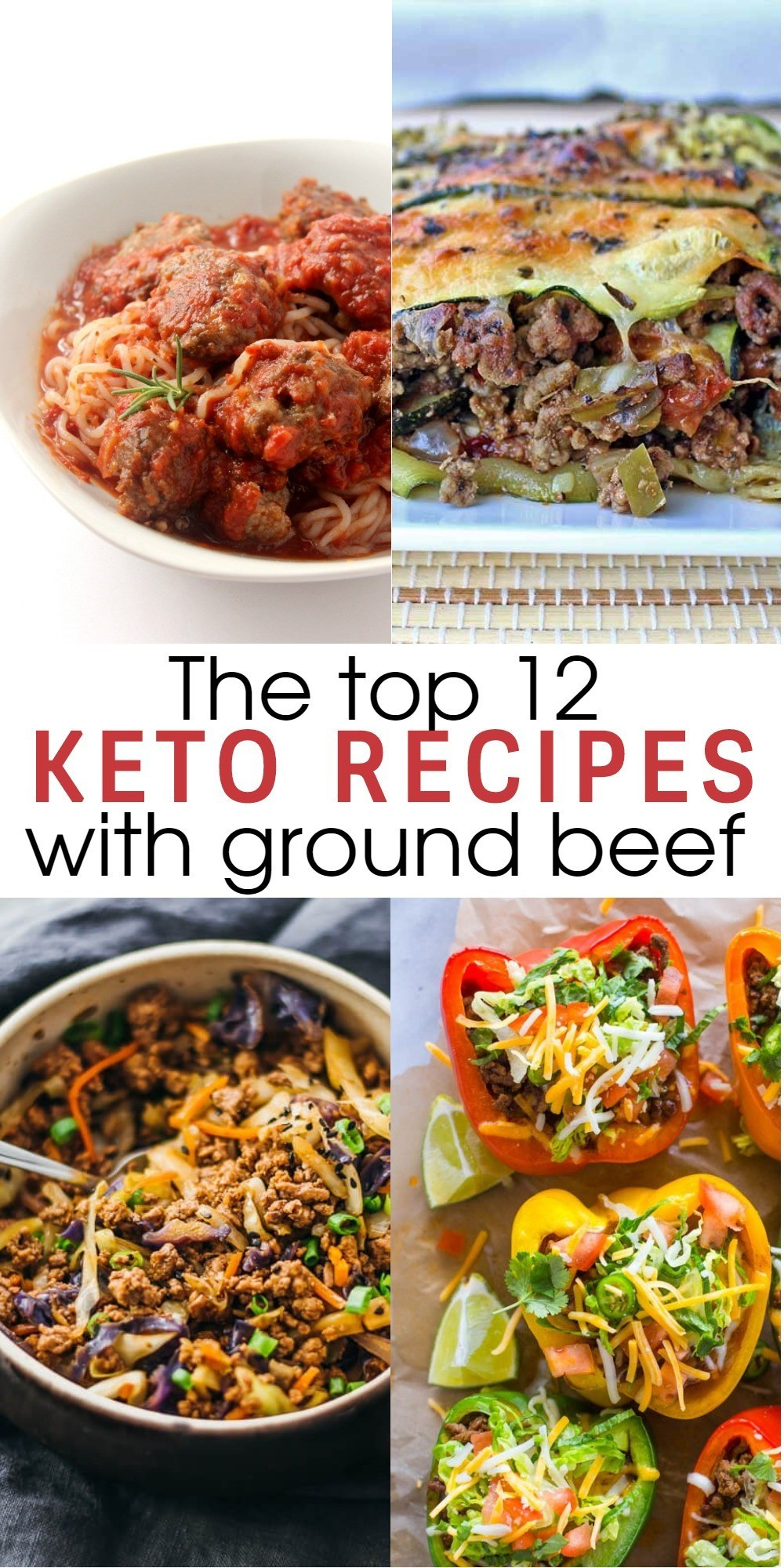 Healthy Dinner With Ground Beef  12 Flavorful and Easy Keto Recipes With Ground Beef To Try