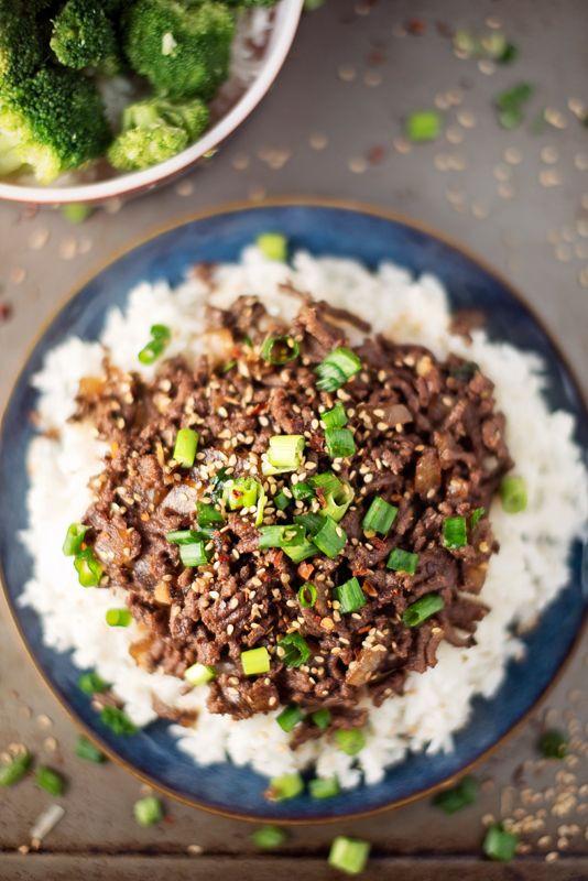 Healthy Dinner With Ground Beef  Best 25 Ground beef rice ideas on Pinterest