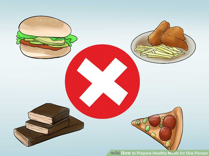 Healthy Dinners For One Person  3 Ways to Prepare Healthy Meals for e Person wikiHow
