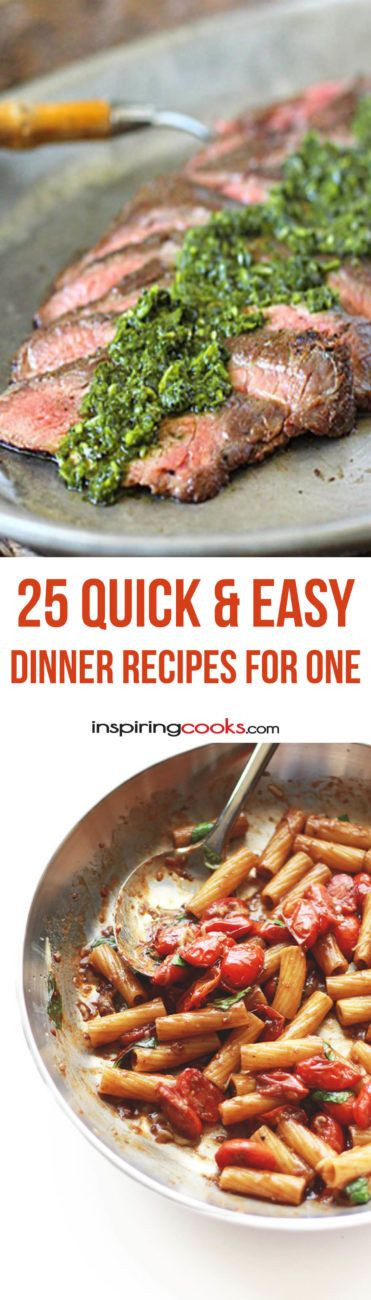 Healthy Dinners For One Person  9 Quick & Easy Single Dinner Recipes for e Person