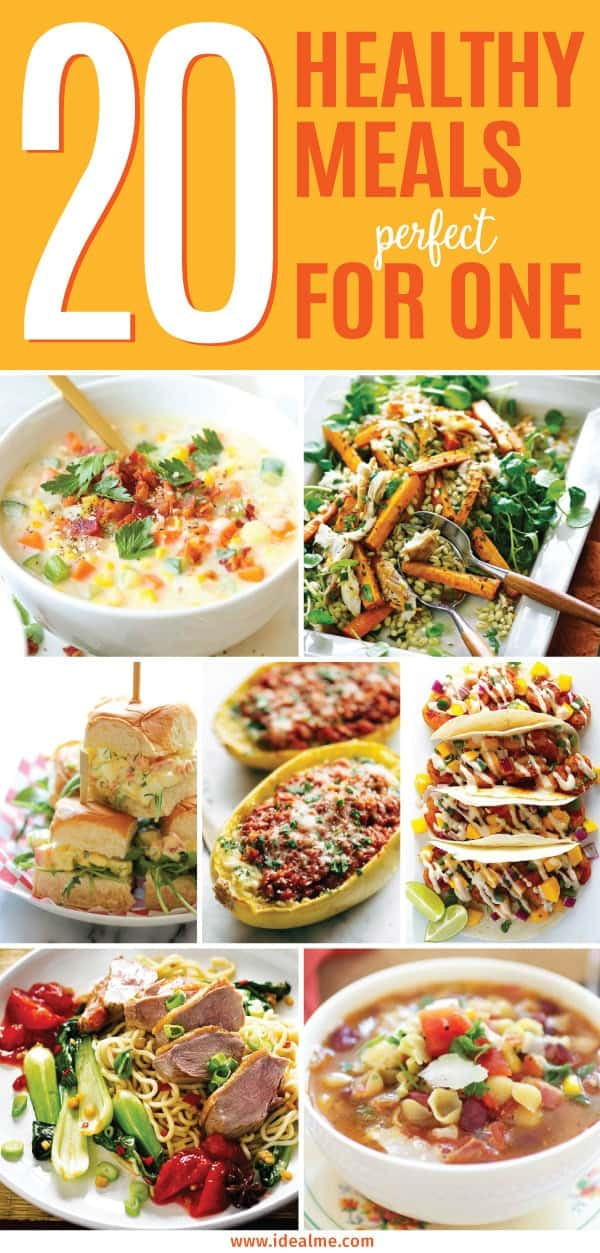 Healthy Dinners For One Person  20 Healthy Meals That Are Perfect For e Ideal Me