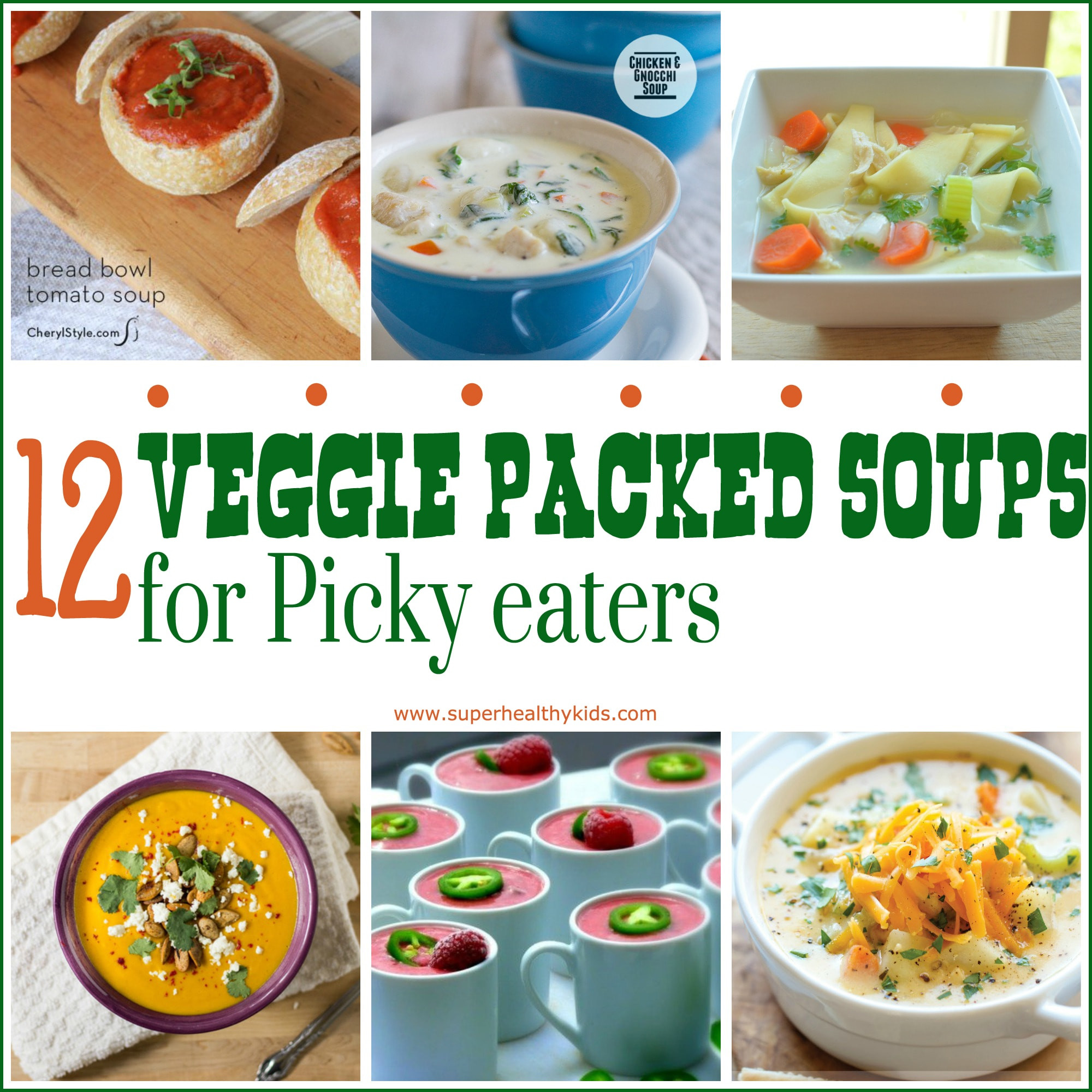 Healthy Dinners For Picky Eaters  12 Veggie Packed Soups for the Picky Eater