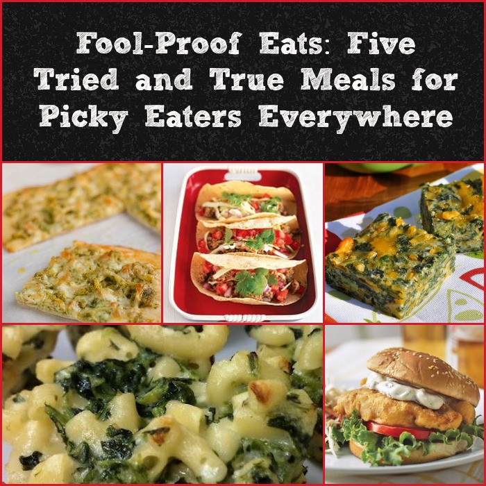 Healthy Dinners For Picky Eaters  Fool Proof Eats Five Tried and True Meals for Picky