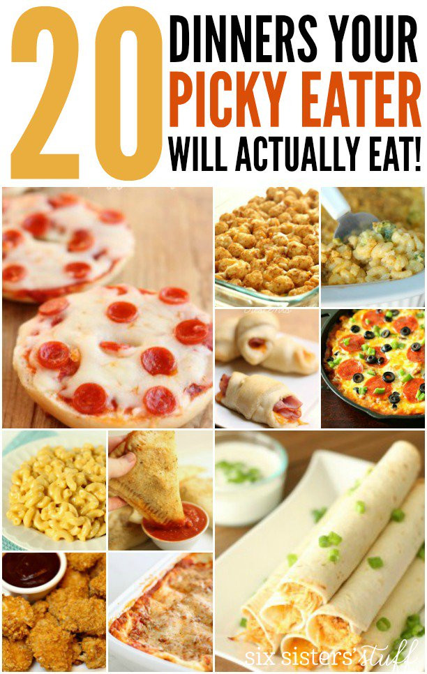 Healthy Dinners For Picky Eaters  20 Dinner Recipes For Picky Eaters