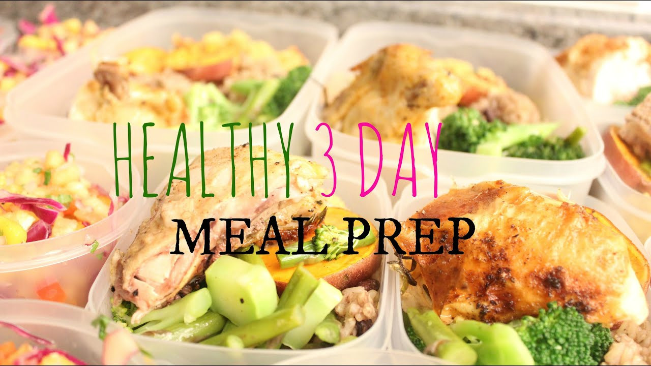 Healthy Dinners For The Week  Healthy Meal Prep For The Week