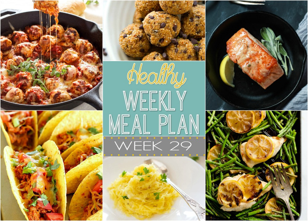 Healthy Dinners For The Week  Healthy Weekly Meal Plan 29