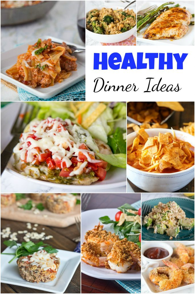 Healthy Dinners For The Week  Healthy Dinner Ideas Dinners Dishes and Desserts