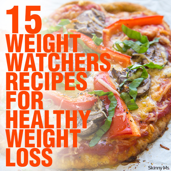Healthy Dinners For Weight Loss  15 Weight Watchers Recipes for Healthy Weight Loss