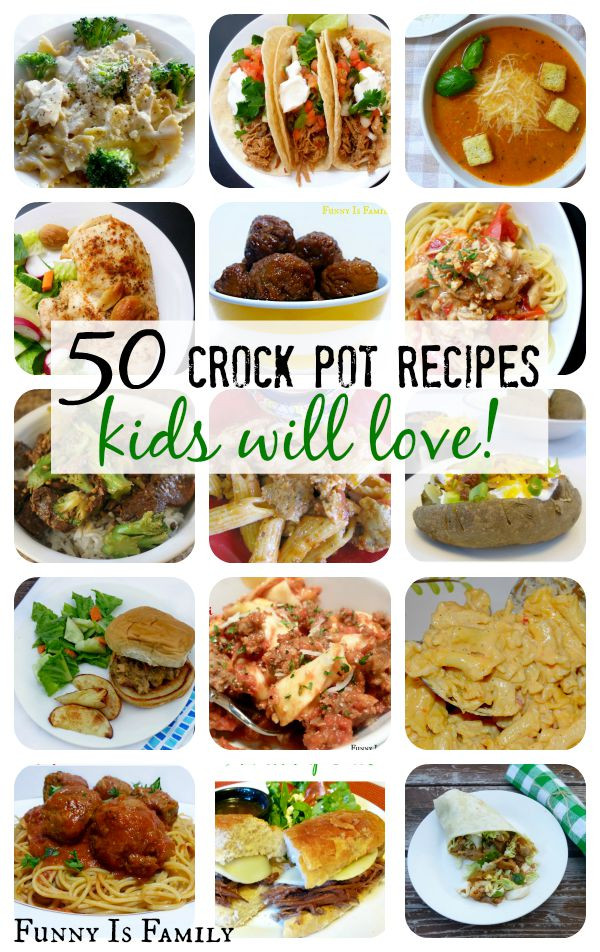 Healthy Dinners Kids Like  Crock Pot Recipes Kids Will Actually Eat