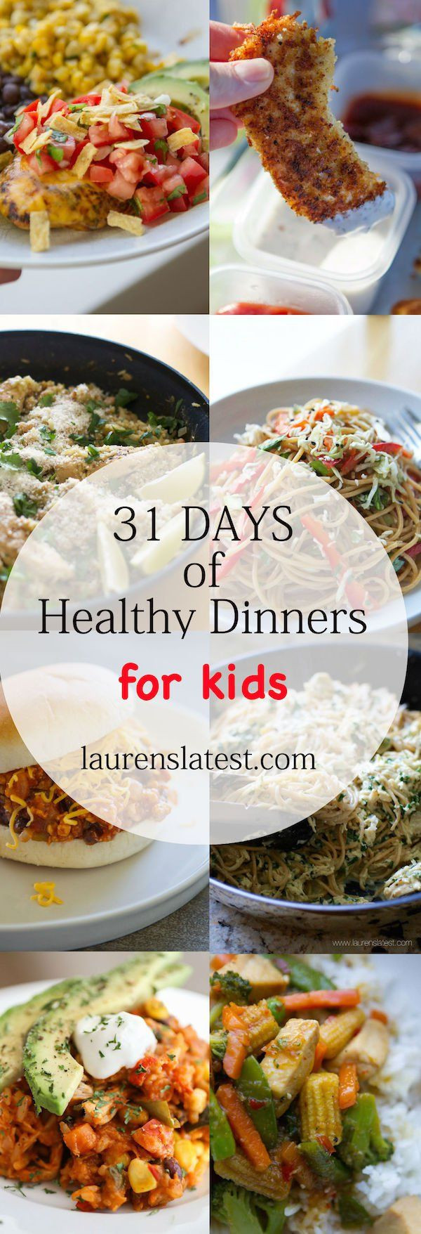 Healthy Dinners Kids Love  Best 25 Dinner ideas for toddlers ideas on Pinterest