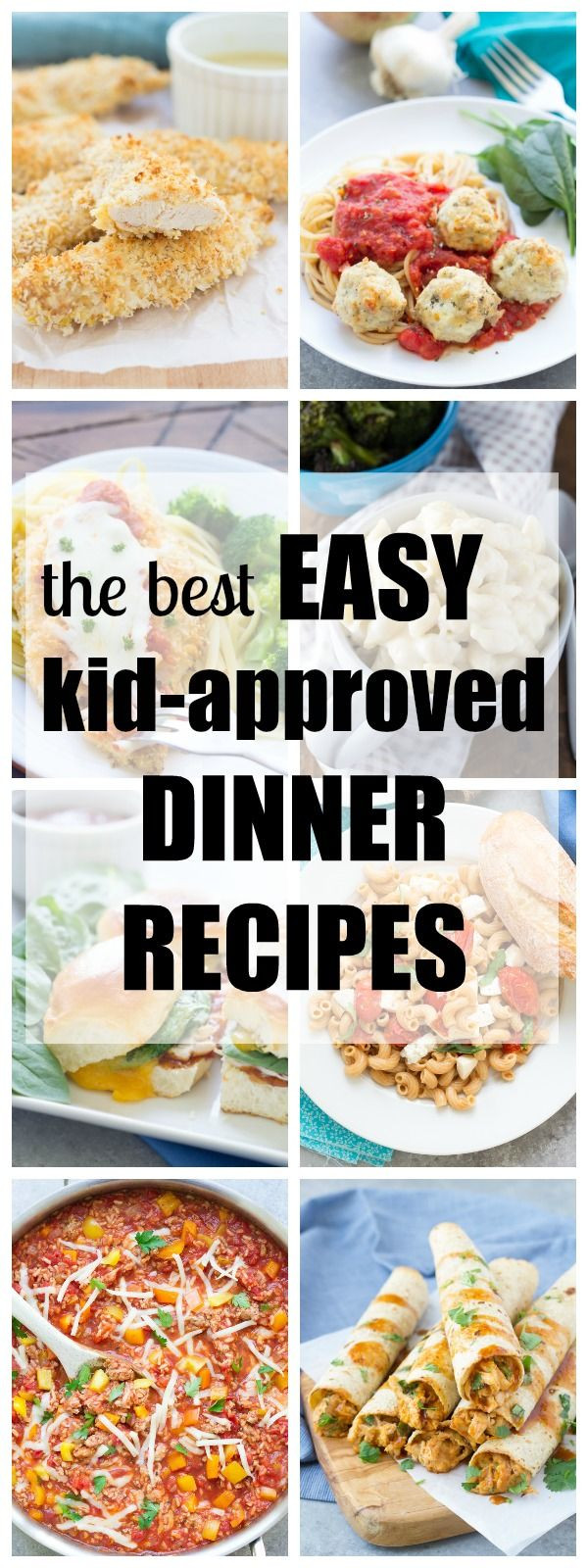 Healthy Dinners Kids Love  Favorite kid friendly dinner recipes from my family to