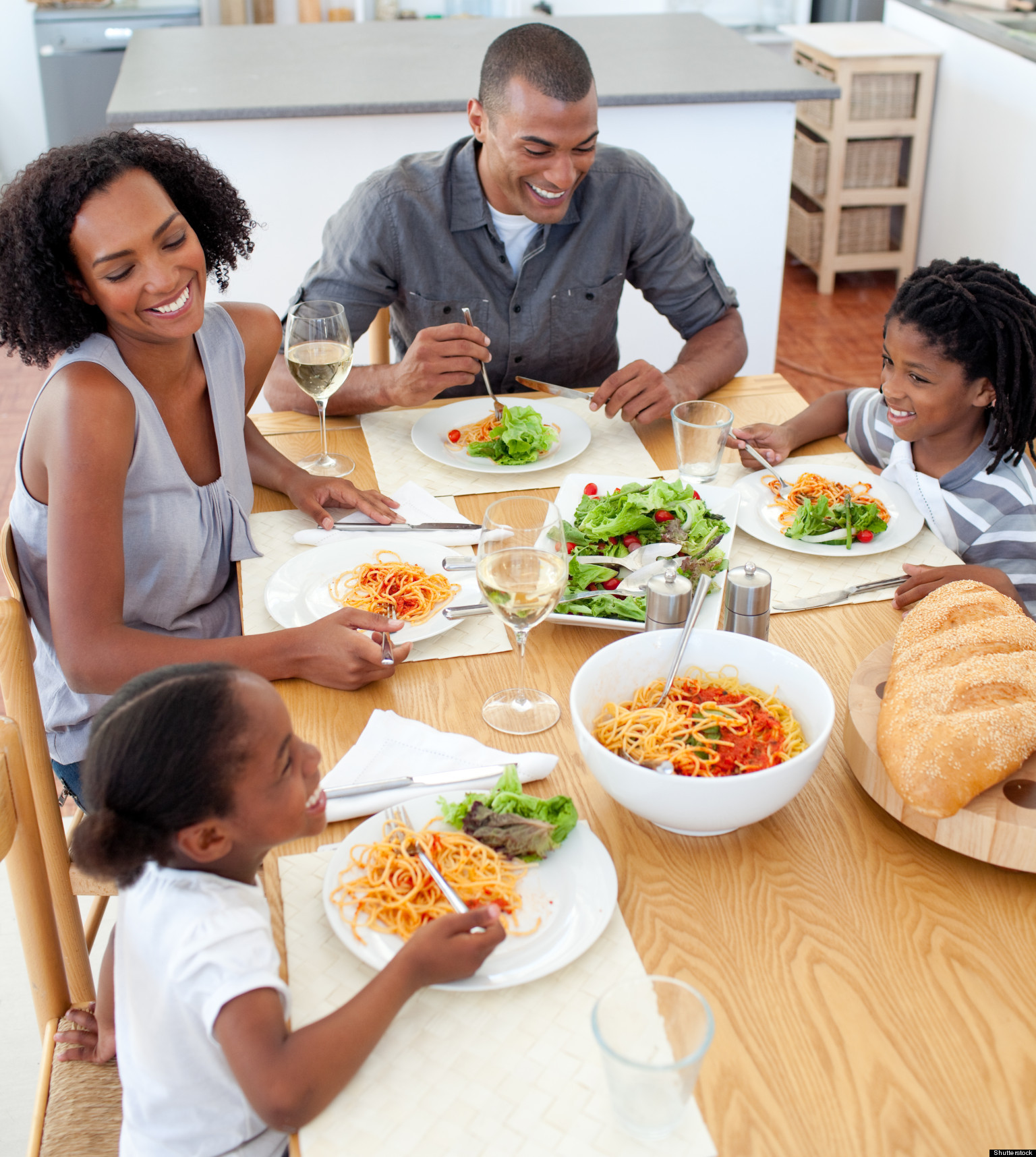 Healthy Dinners Kids Will Eat  Family Mealtime Most Families Eat Dinner To her Most