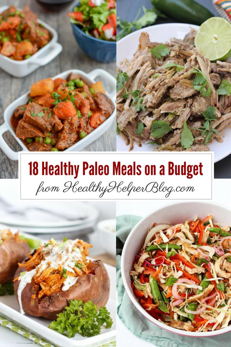 Healthy Dinners On A Budget  18 Paleo Meals on a Bud • Healthy Helper