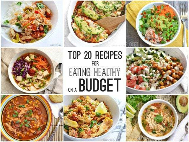 Healthy Dinners On A Budget  Top 20 Recipes for Eating Healthy on a Bud Bud Bytes
