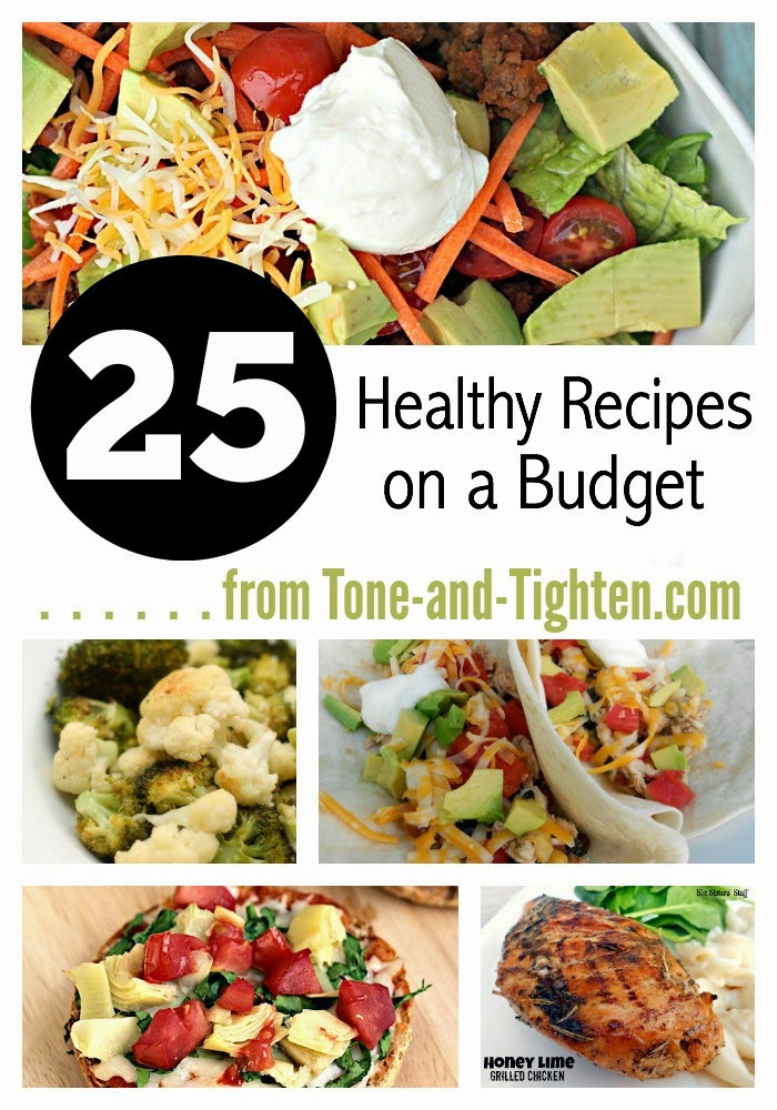 Healthy Dinners On A Budget  How to Eat Healthy on a Bud plus 25 inexpensive