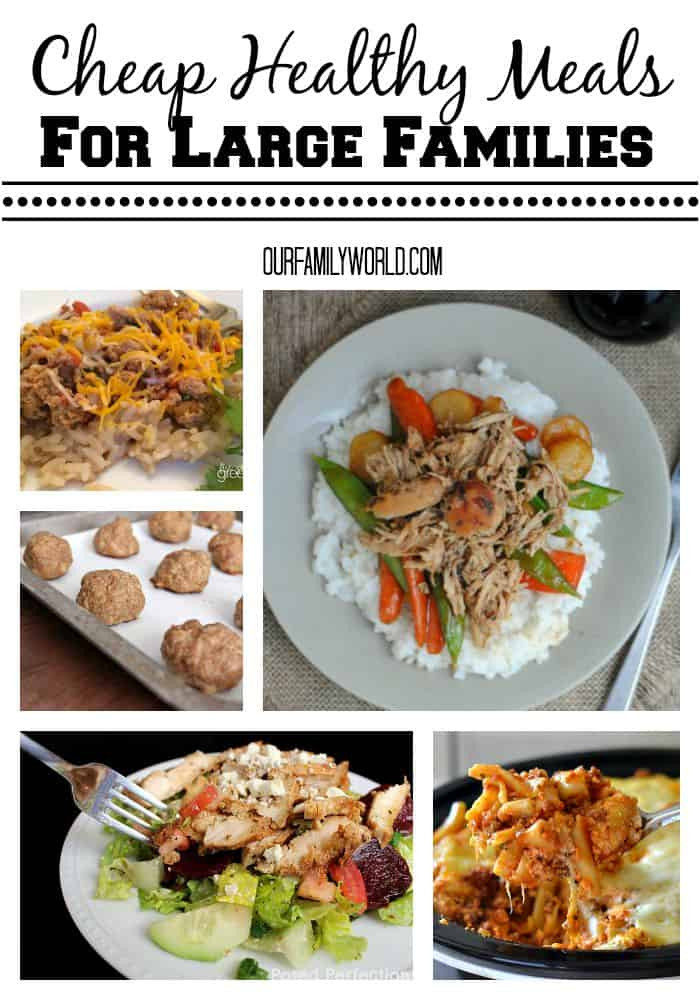 Healthy Dinners On A Budget  Cheap Healthy Meals For Families Our Family World