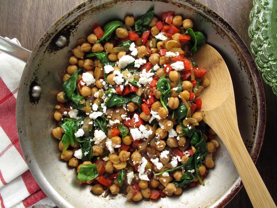 Healthy Dinners To Cook  Garbanzo Bean Burritos Recipe Aida Mollenkamp