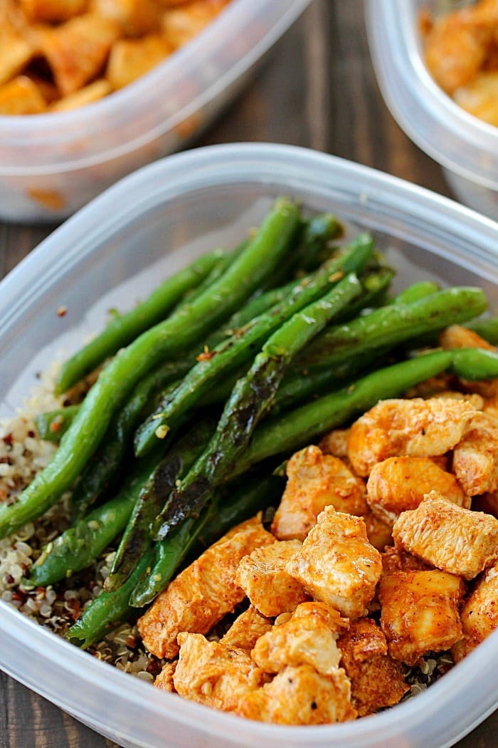 Healthy Dinners To Cook  Meal Prep Baked Lime Chicken Bowls Yummy Healthy Easy