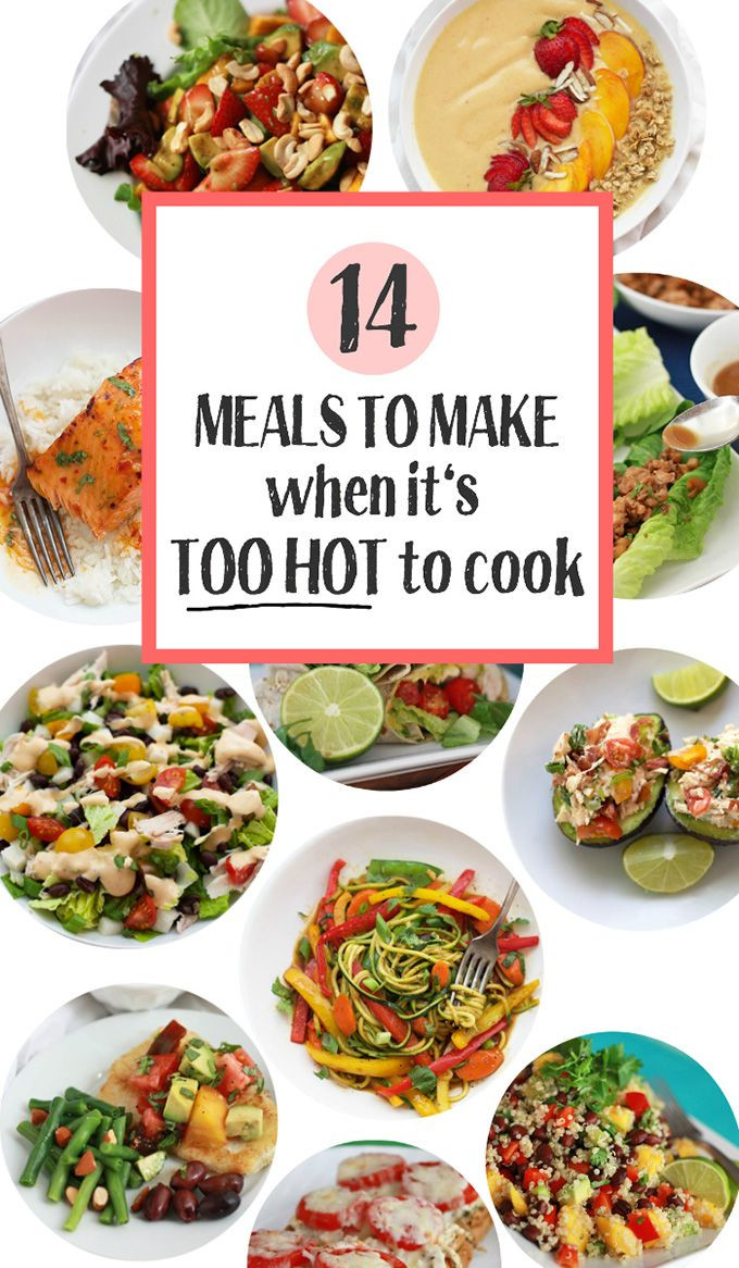 Healthy Dinners To Cook  What to Make When It s Too Hot to Cook