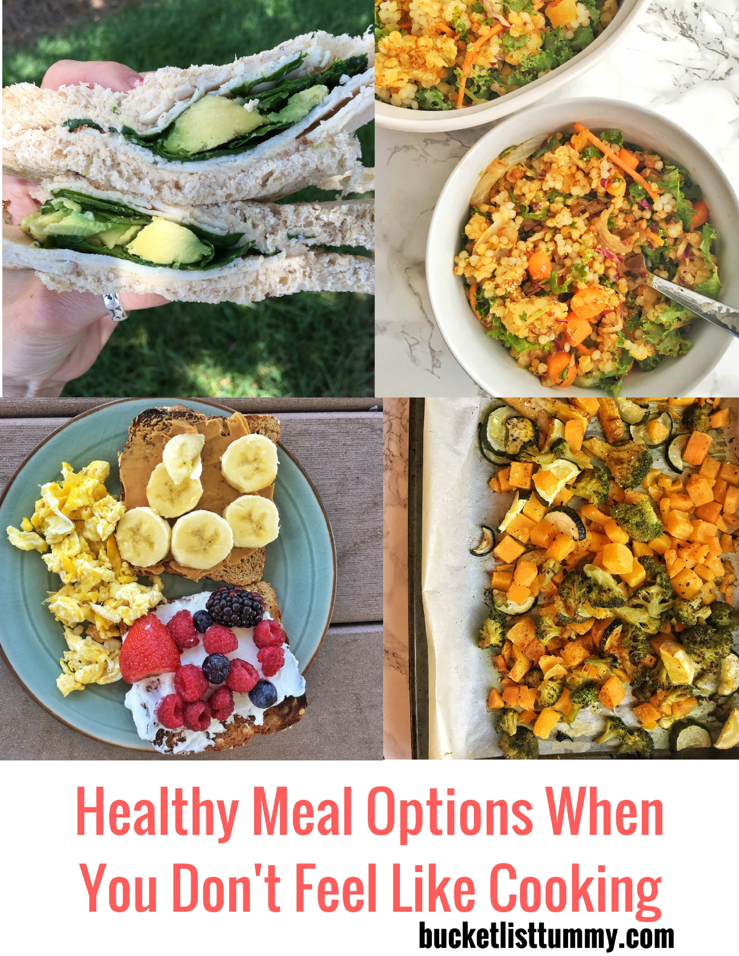 Healthy Dinners To Cook  Quick Healthy Meal Options When you Don t Feel like Cooking