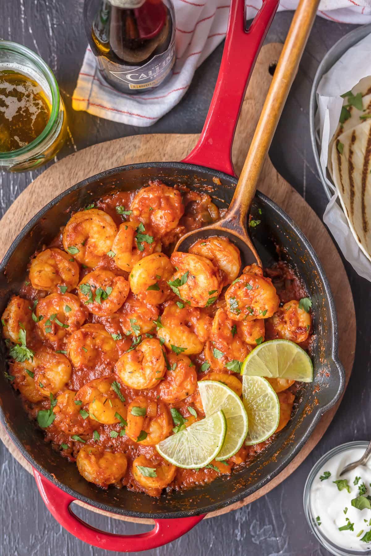 Healthy Dinners To Make At Home  Skillet Chipotle Shrimp Easy Spicy Shrimp [VIDEO