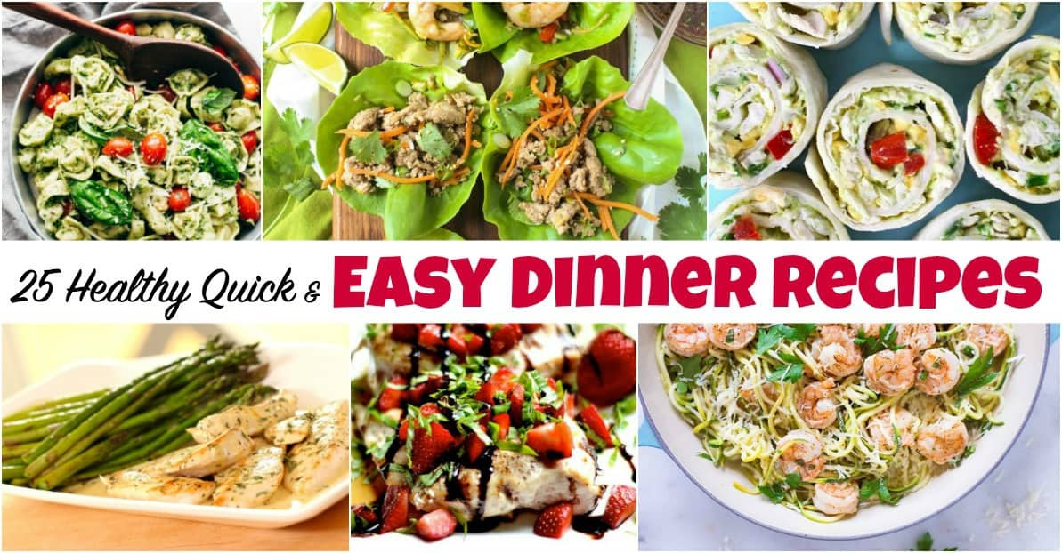 Healthy Dinners To Make At Home  25 Healthy Quick and Easy Dinner Recipes to Make at Home
