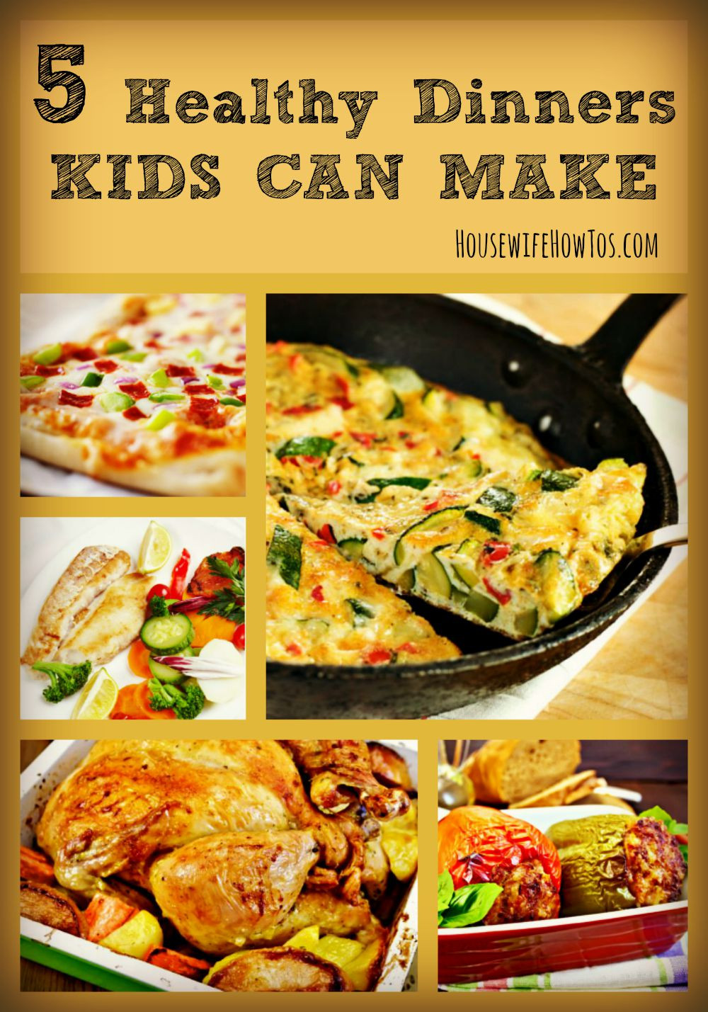 Healthy Dinners To Make  5 Healthy Dinners Kids Can Make