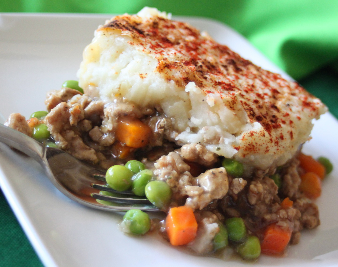 Healthy Dishes With Ground Turkey  Healthy Busy Mom Easy Ground Turkey Shepherd s Pie