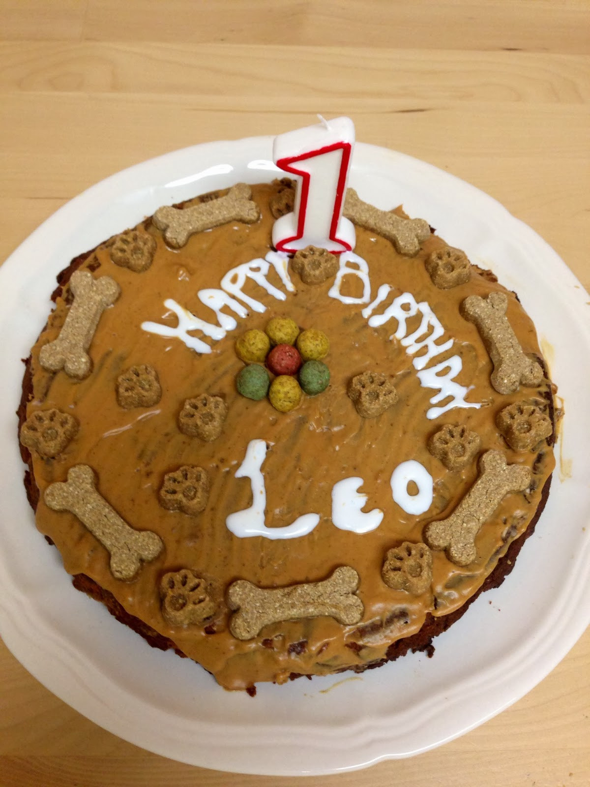 Healthy Dog Birthday Cake Recipes  Les Bananas Prince Leo s First Birthday Healthy Dog