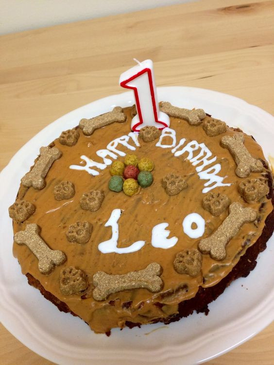 Healthy Dog Birthday Cake Recipes  Birthday cake recipes Birthday cakes and Birthdays on