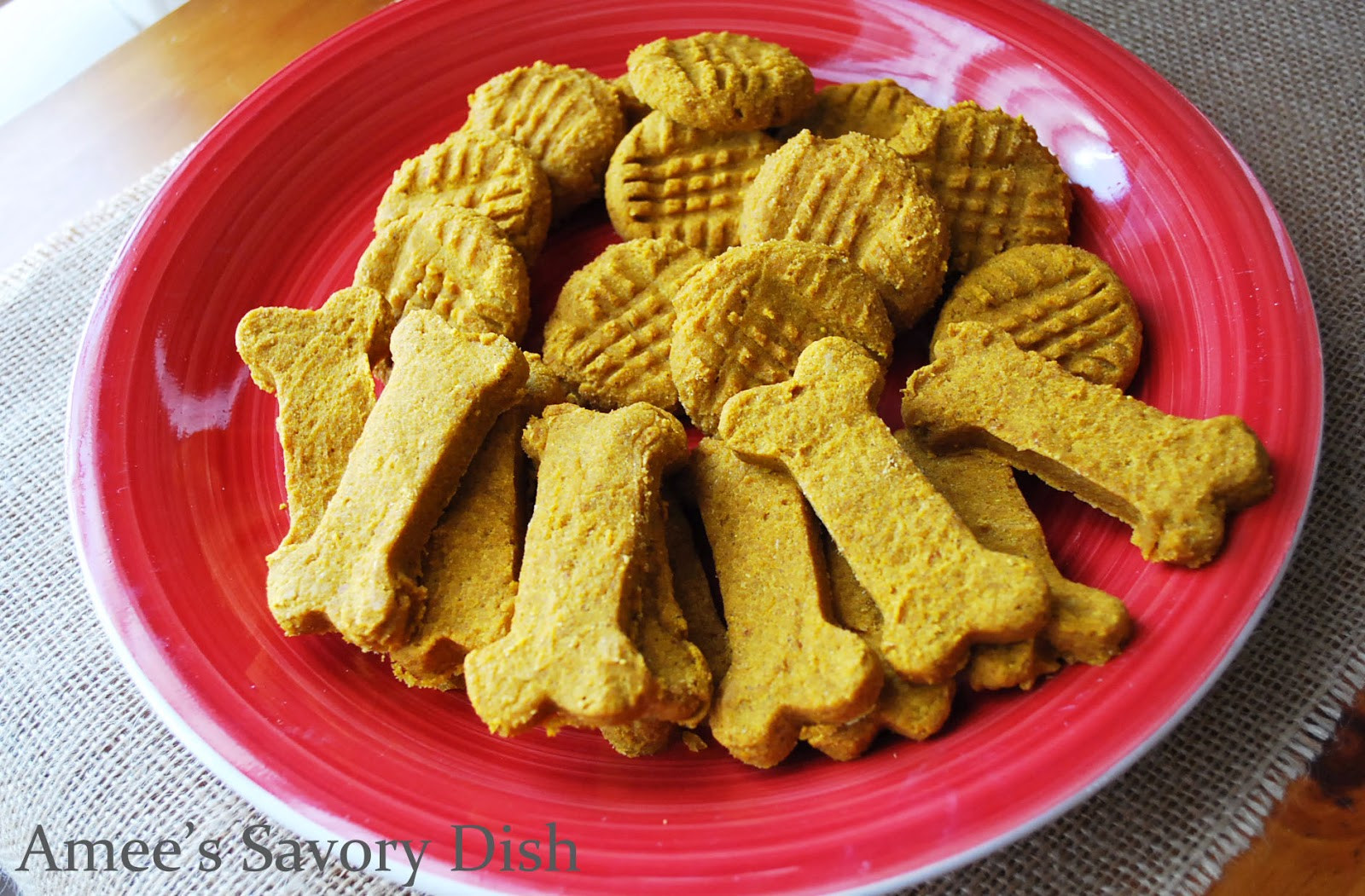 Healthy Dog Snacks  Healthy Homemade Dog Treats Amee s Savory Dish