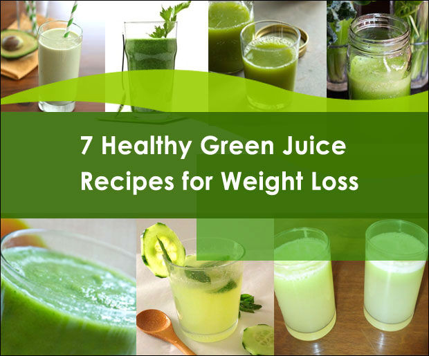 Healthy Drink Recipes For Weight Loss  7 Delicious Green Juice Recipes for Weight Loss