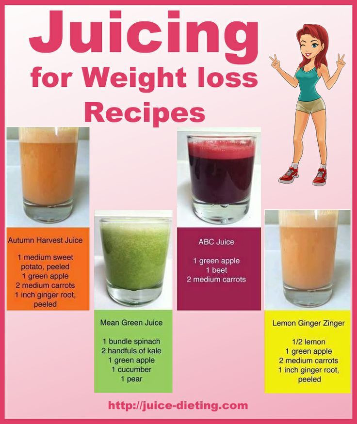 Healthy Drink Recipes For Weight Loss  Juicing For Weight Loss Recipes s and