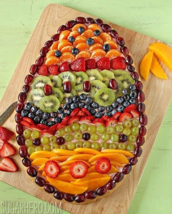 Healthy Easter Appetizers  Easter fruit appetizer Healthy Easter food