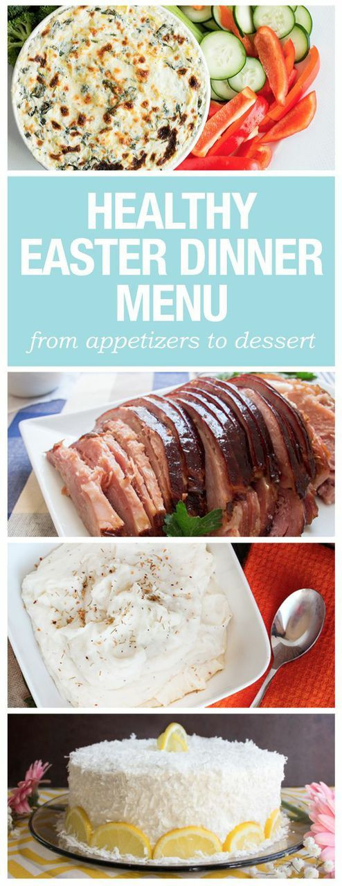 Healthy Easter Dinner  Pinterest • The world's catalog of ideas