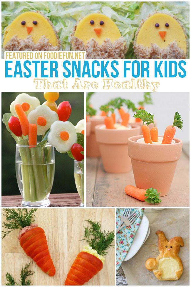 Healthy Easter Snacks  24 Easter Treats for Kids Foo Fun