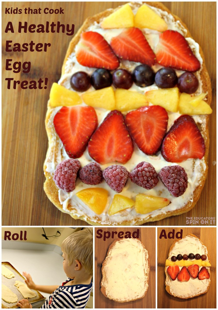 Healthy Easter Snacks  The Educators Spin It Healthy Easter Egg Treat