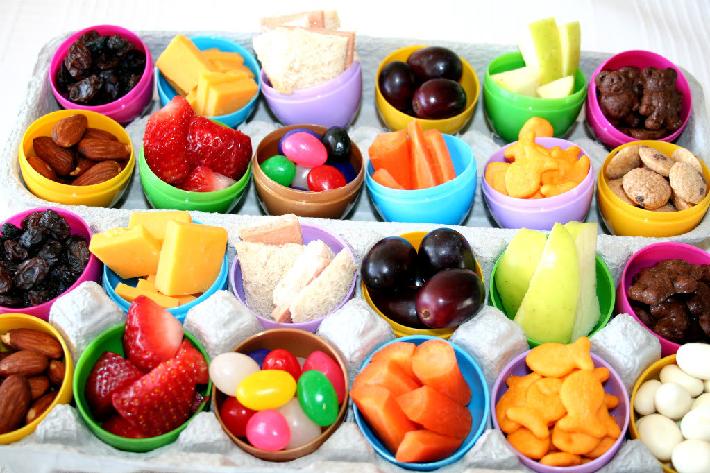 """Healthy Easter Snacks  Party Girls """"Hoppy Easter"""" Party for Kids"""