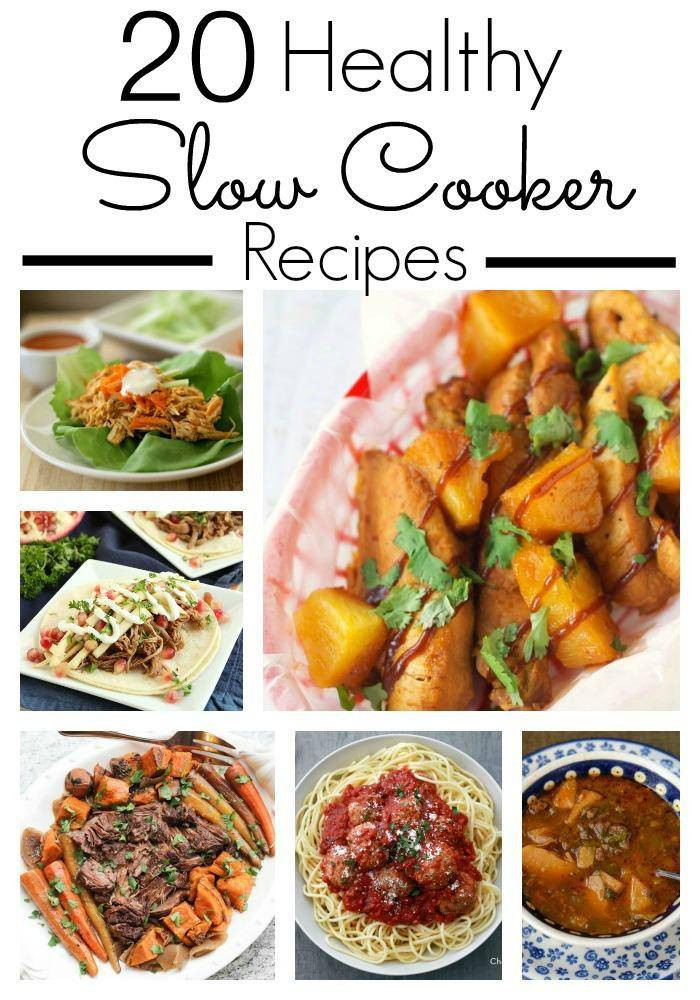 Healthy Easy Slow Cooker Recipes  25 Healthy Slow Cooker Recipes