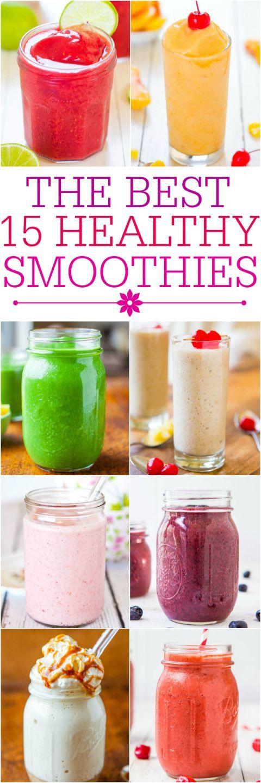 Healthy Easy Smoothie Recipes  Healthy smoothies Smoothies and Smoothie recipes on Pinterest