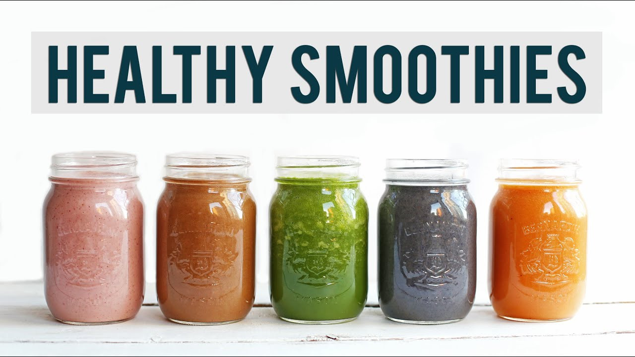Healthy Easy Smoothie Recipes  5 Breakfast Smoothie Recipes