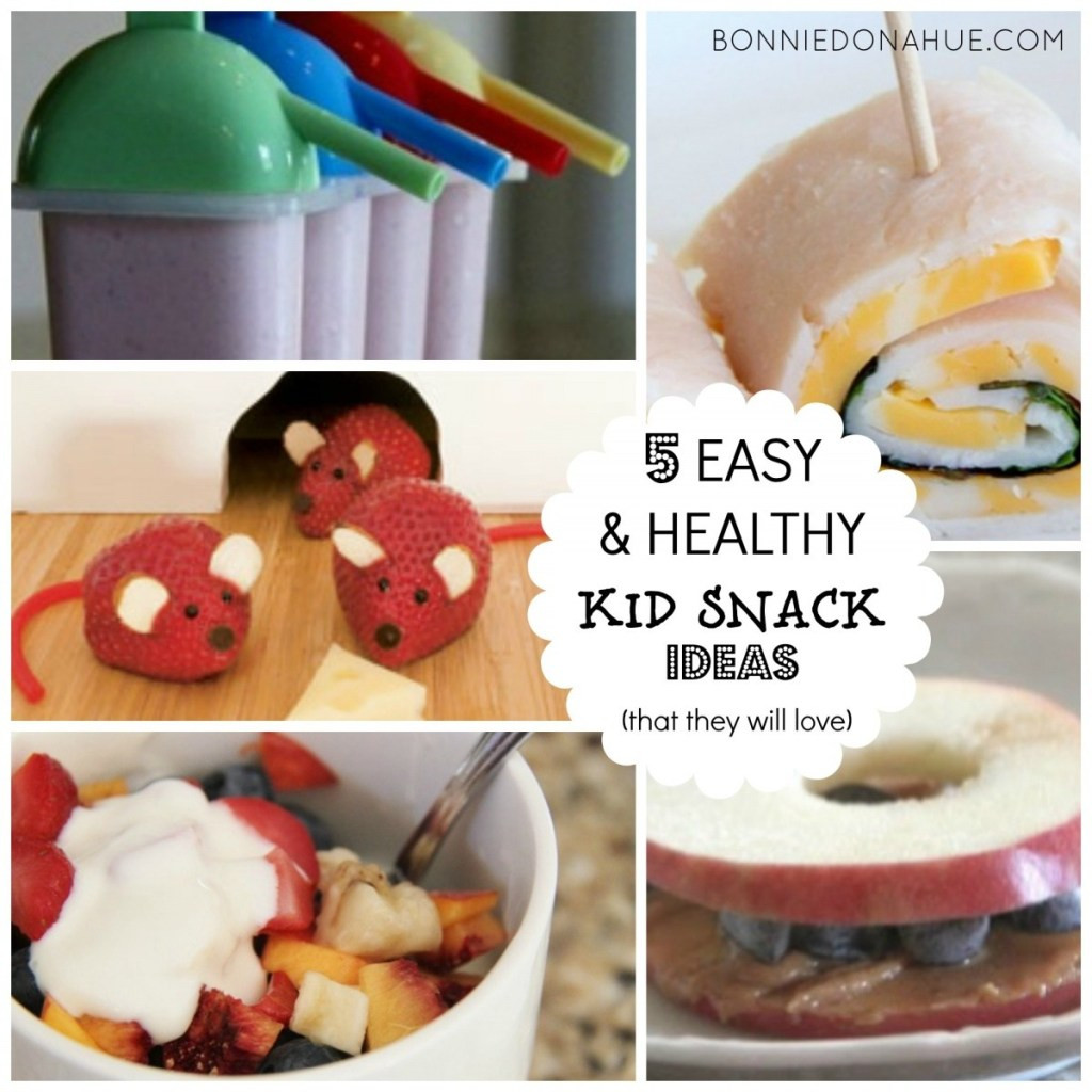 Healthy Easy Snacks  5 Easy & Healthy Kid Snack Ideas that they will love