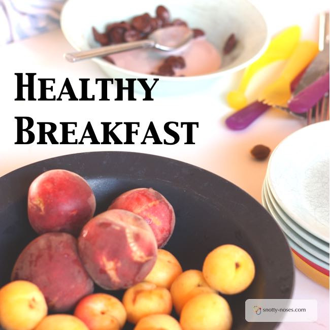 Healthy Easy To Make Breakfast  Healthy Eating for Kids